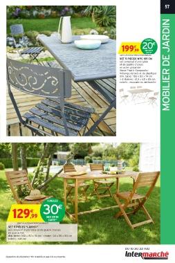 Best cumulez mobilier de jardin uac uac sur votre carte dont uac mobilier set pices wpc cm set - Chaise longue intermarche ...