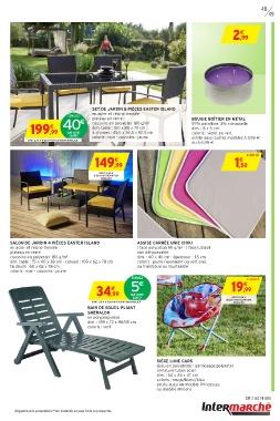 Intermarché Salon De Jardin – Idées d\'images à la maison