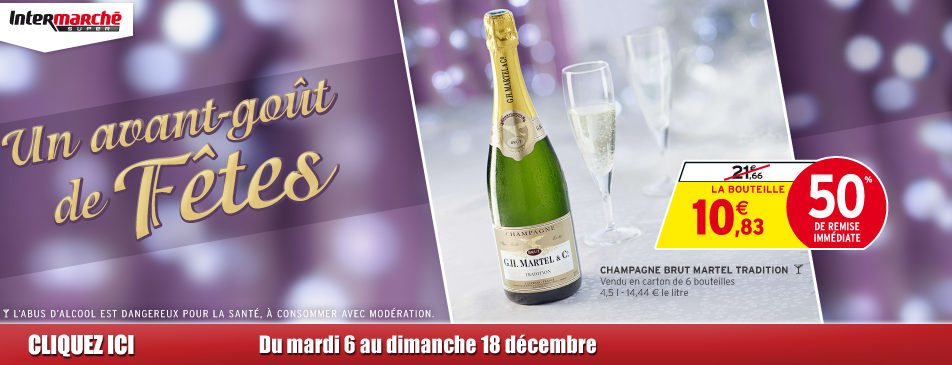 Un avant-goût de fêtes du 6 au 18 décembre Intermarché Givet