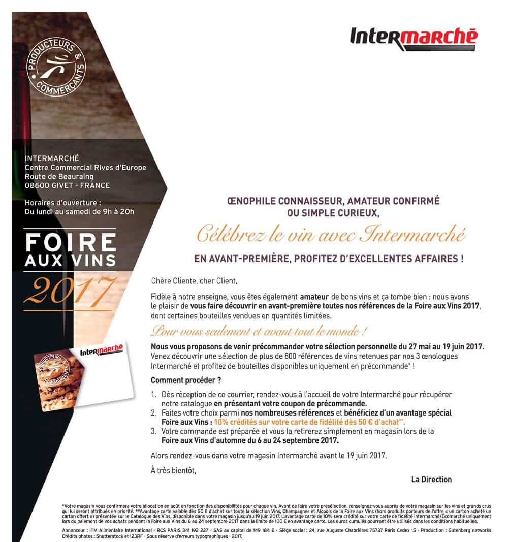 Intermarch givet route de beauraing - Invitation foire de lyon 2017 ...