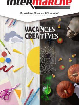 Vacances créatives du vendredi 20 au mardi 31 octobre 2017 Intermarché Givet