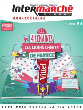 Les 4 semaines les moins chères de France du mardi 17 au dimanche 22 octobre 2017 Intermarché Givet