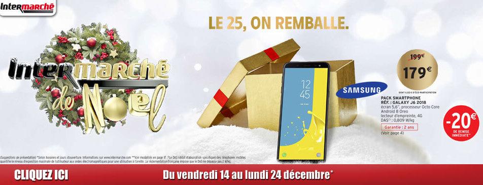Noël du vendredi 14 au dimanche 24 décembre Intermarché Givet