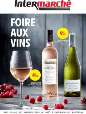 Foire aux vins de printemps du vendredi 17 mai au dimanche 2 juin Intermarché Givet
