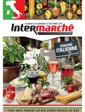Semaine italienne du mardi 10 au dimanche 15 septembre Intermarché Givet