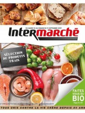 Sélection de produits frais du mardi 10 au dimanche 15 septembre Intermarché Givet