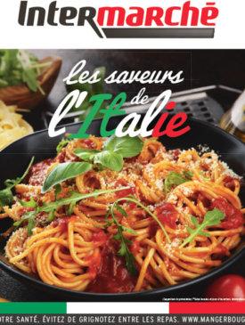 Les saveurs de l'italie du mardi 21 au dimanche 26 janvier Intermarché Givet