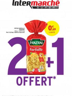 2 + 1 offert du mardi 24 au dimanche 29 mars Intermarché Givet