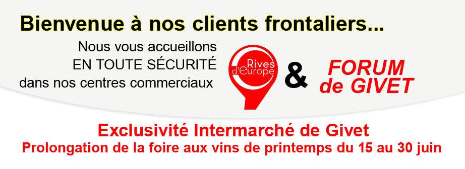 Prolongation foire aux vins printemps 2020 Intermarché Givet