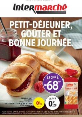 Petit-déjeuner, goûter et bonne journée du mardi 16 au dimanche 28 février Intermarché Givet