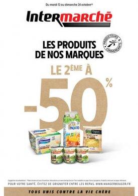 Les produits de nos marques – Du mardi 12 au dimanche 24 octobre Intermarché Givet